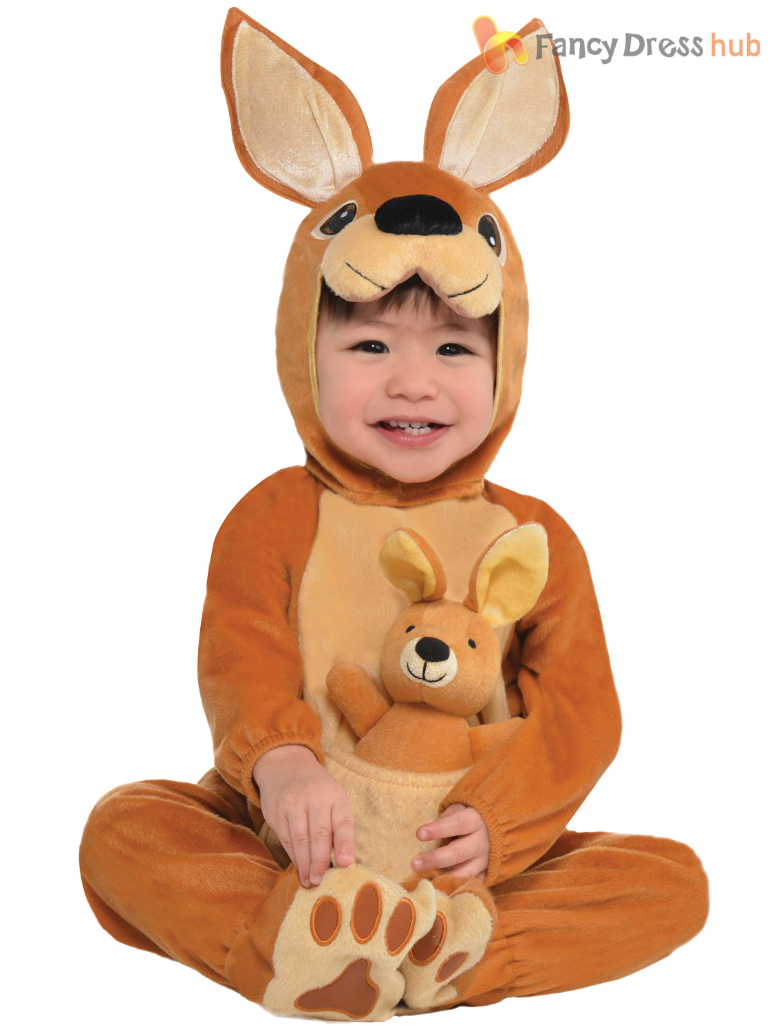 Baby-Toddler-Animal-Costume-Boy-Girl-Zoo-Jungle-Fancy-Dress-Infant-Jumpsuit-Kids thumbnail 11