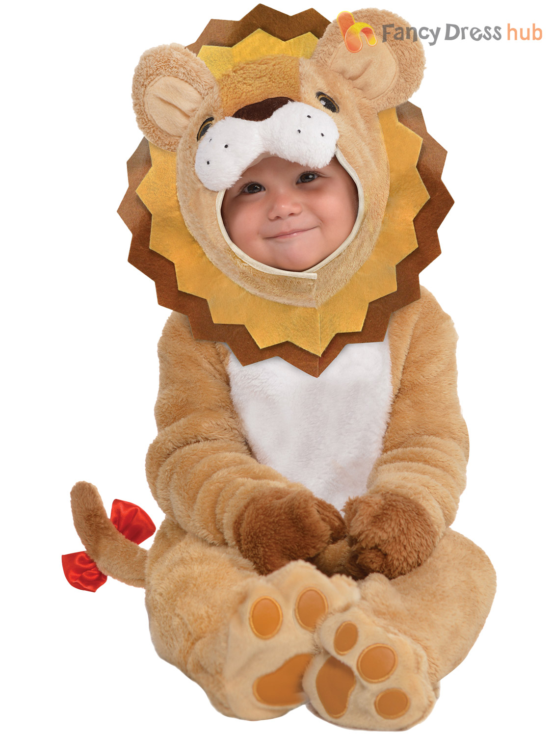 Baby-Toddler-Animal-Costume-Boy-Girl-Zoo-Jungle-Fancy-Dress-Infant-Jumpsuit-Kids thumbnail 17