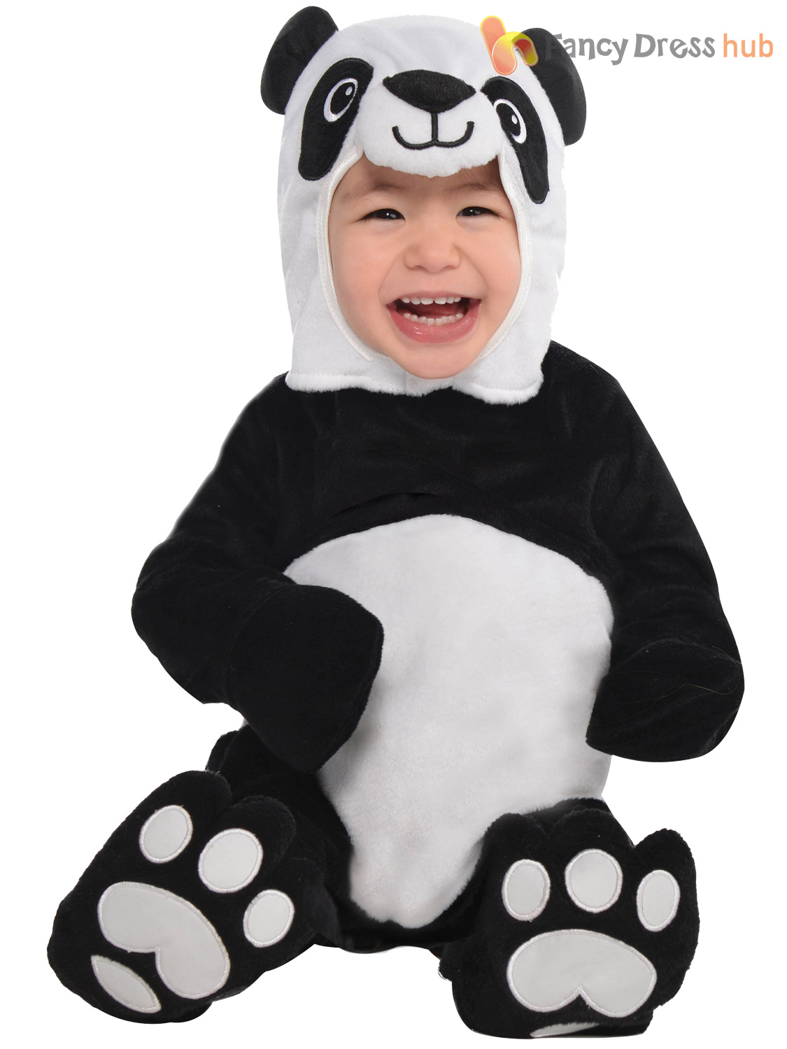 Baby-Toddler-Animal-Costume-Boy-Girl-Zoo-Jungle-Fancy-Dress-Infant-Jumpsuit-Kids thumbnail 24