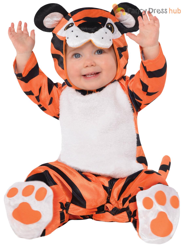 Baby Toddler Animal Costume Boy Girl Zoo Jungle Fancy Dress Infant ...