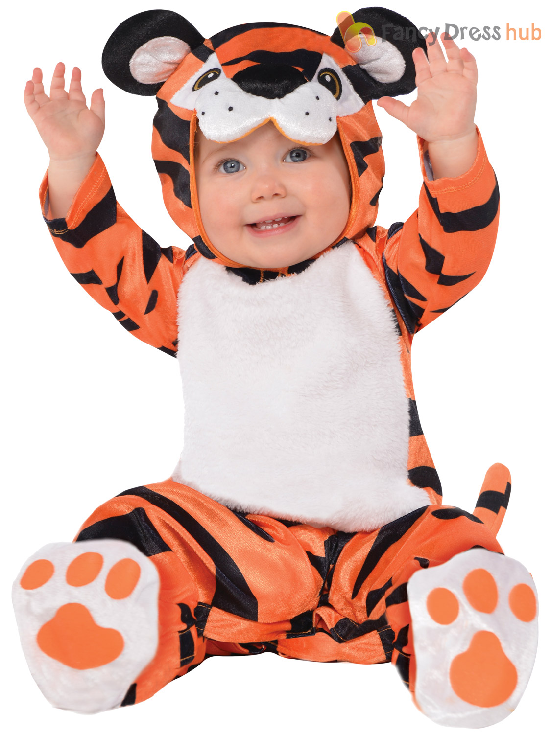 Baby-Toddler-Animal-Costume-Boy-Girl-Zoo-Jungle-Fancy-Dress-Infant-Jumpsuit-Kids thumbnail 30