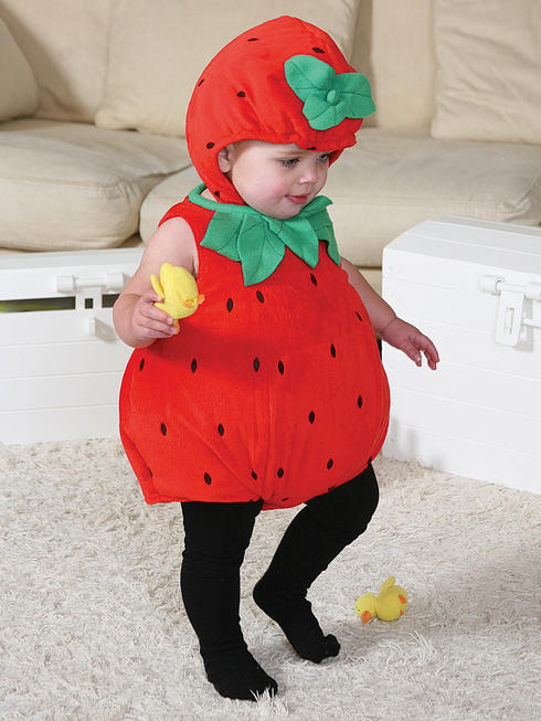 Baby Strawberry Suit Costume