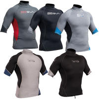 Gul Xola Mens SS Rash Guard