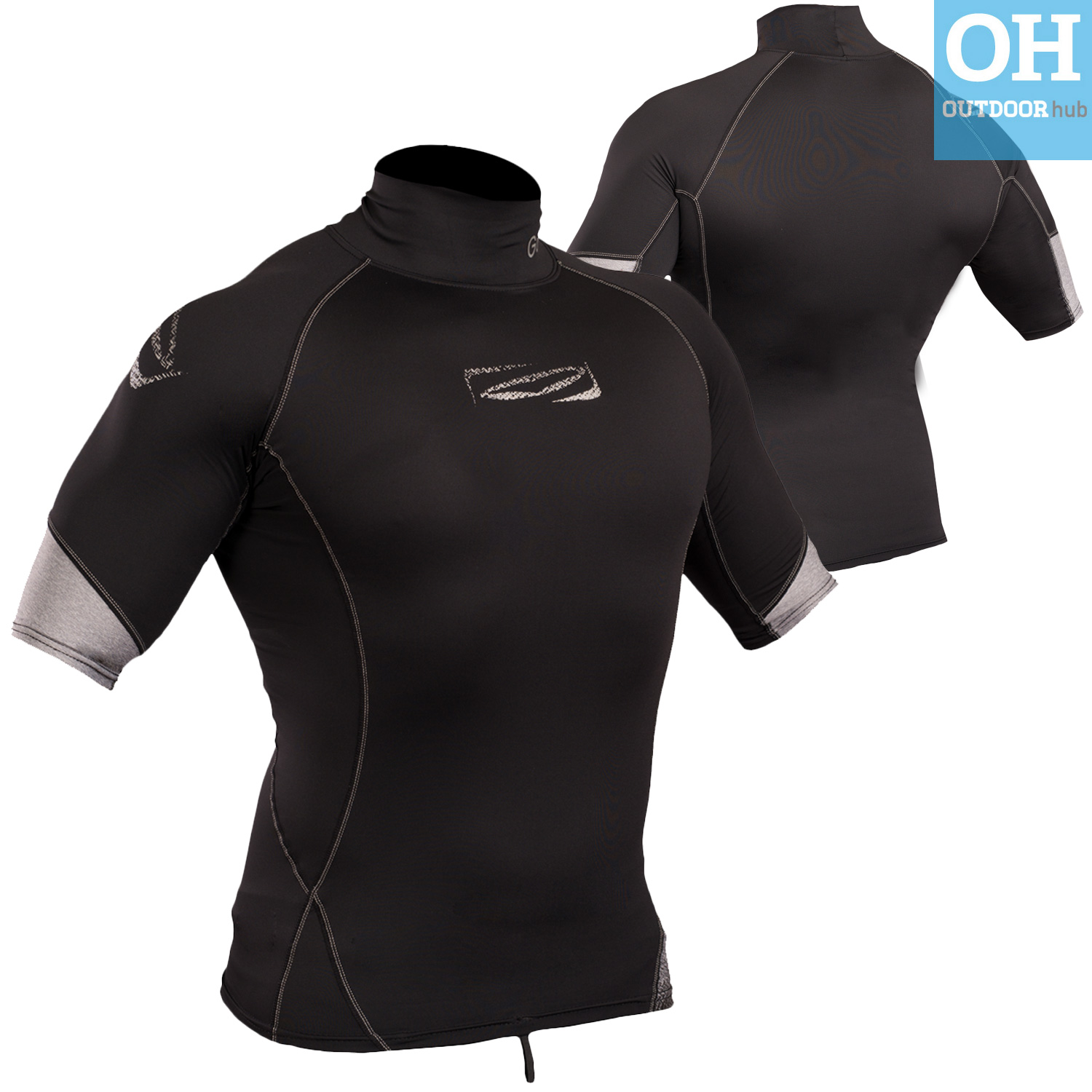 Gul-Xola-Mens-Short-Sleeve-Rash-Guard-Vest-Wetsuit-Top-UV-50-Surf-Swim-Dive thumbnail 8
