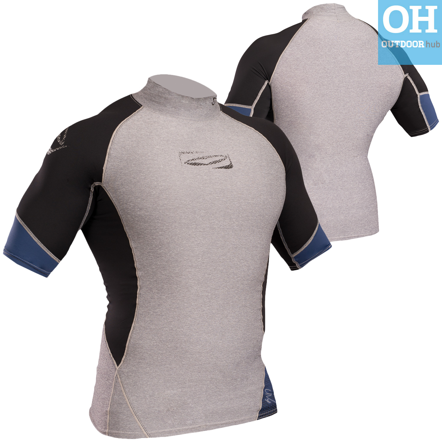 Gul-Xola-Mens-Short-Sleeve-Rash-Guard-Vest-Wetsuit-Top-UV-50-Surf-Swim-Dive thumbnail 30
