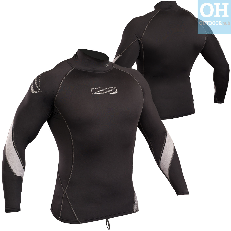 Gul-Xola-Mens-Long-Sleeve-Rash-Guard-Vest-Wetsuit-Top-UV-50-Surf-Swim-Dive thumbnail 11