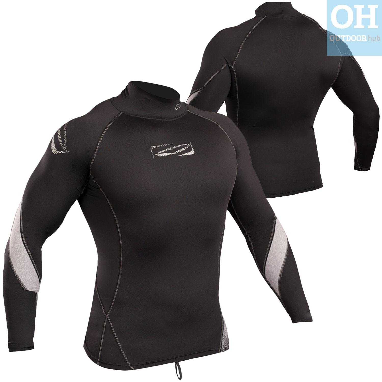 Gul-Xola-Mens-Long-Sleeve-Rash-Guard-Vest-Wetsuit-Top-UV-50-Surf-Swim-Dive thumbnail 12