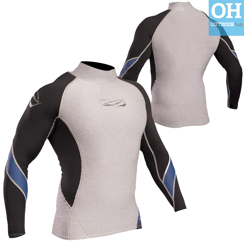 Gul-Xola-Mens-Long-Sleeve-Rash-Guard-Vest-Wetsuit-Top-UV-50-Surf-Swim-Dive thumbnail 25
