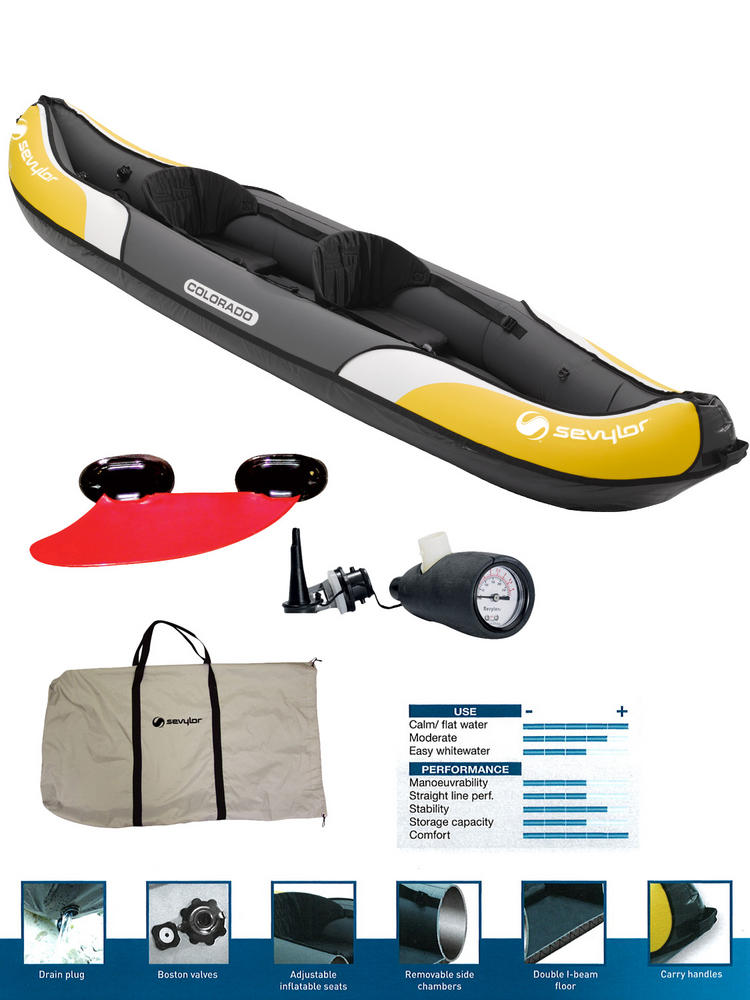 Sevylor Colorado Inflatable Kayak