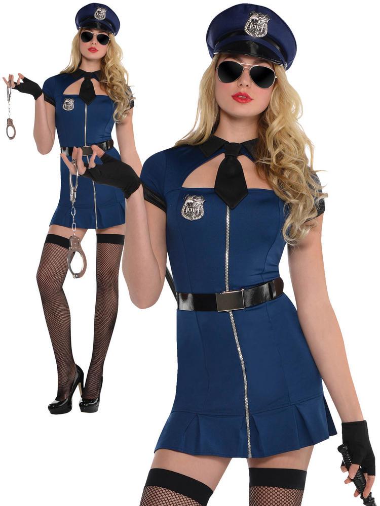 Ladies Bad Cop Costume