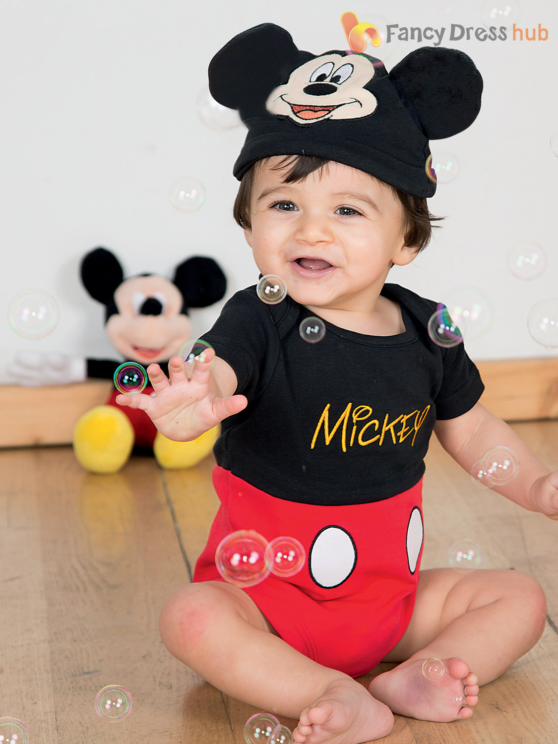 0058f08dcc8 Baby Toddler Deluxe Mickey Mouse Costume Boys Disney Fancy Dress ...