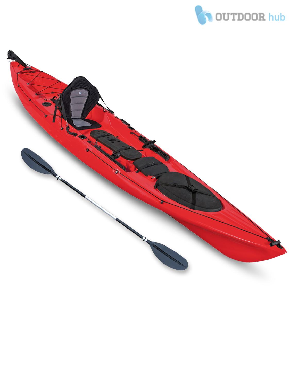 Top kayak single fishing angler canoe rod holder concept for Best fishing canoe