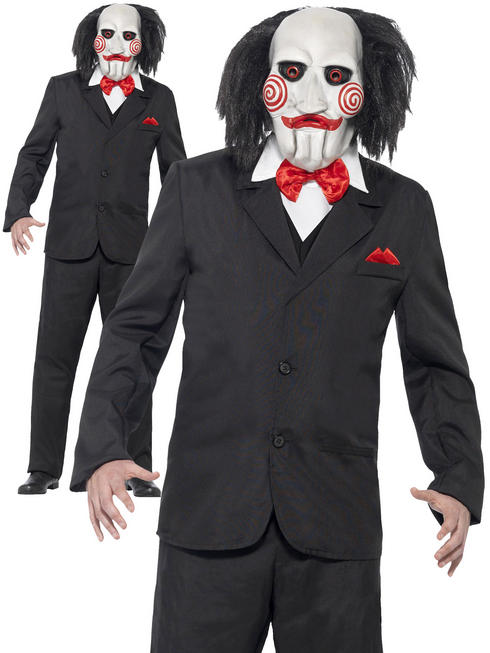 Men's Saw Jigsaw Costume
