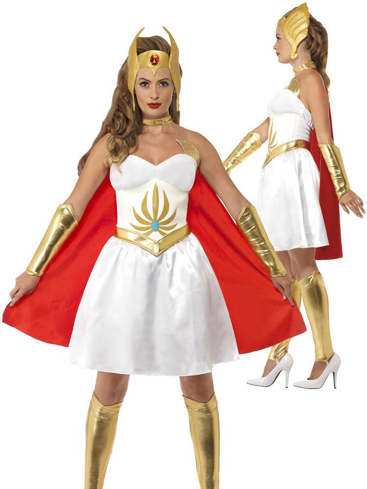 Ladies Deluxe She-Ra Costume