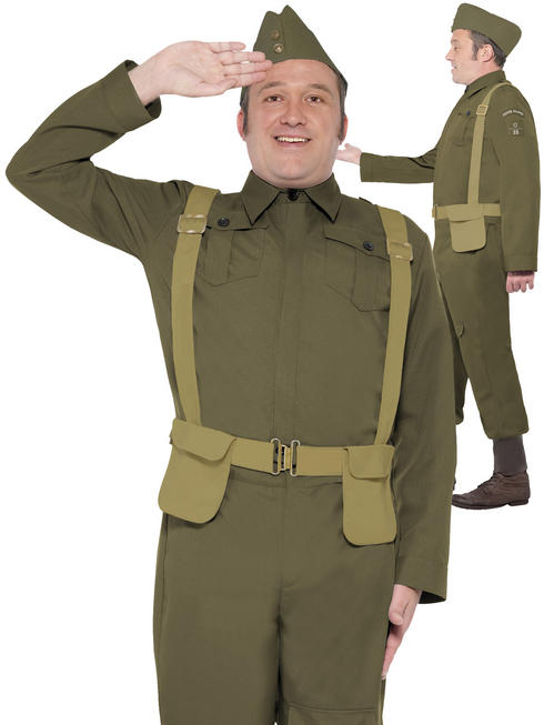 Adult's WW2 Home Guard Private Costume