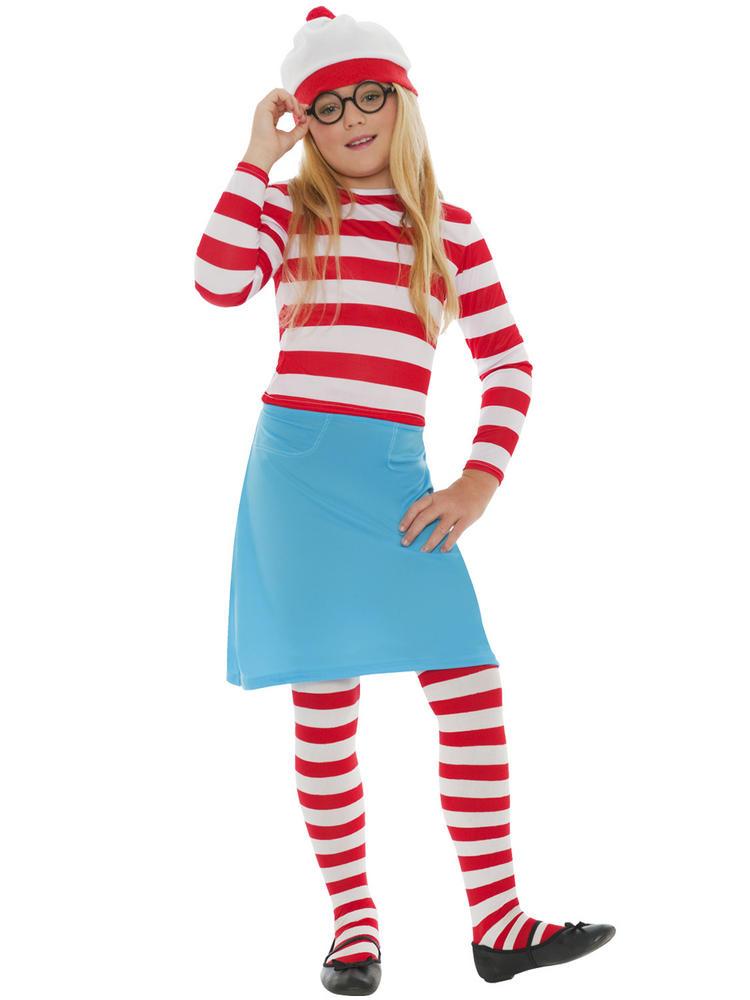 Kids Wheres Wally Costume All Children Fancy Dress Hub