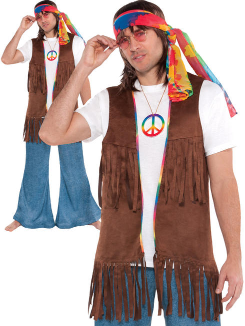 Adults Long Hippie Vest