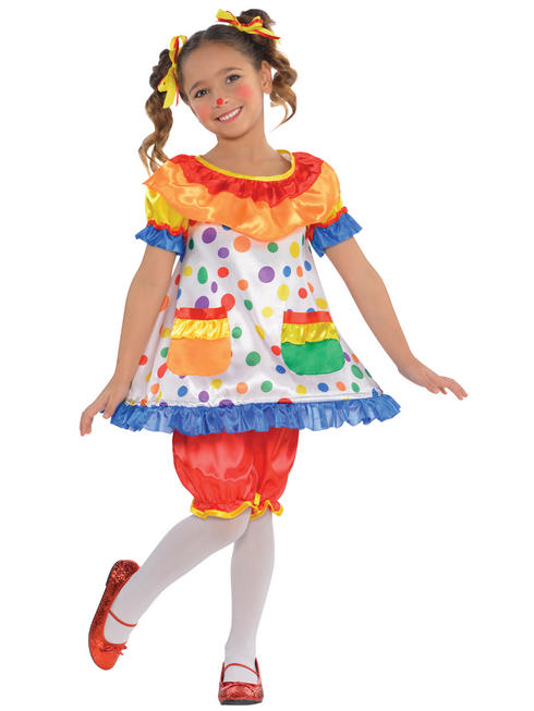 Kids Circus Clown Dress