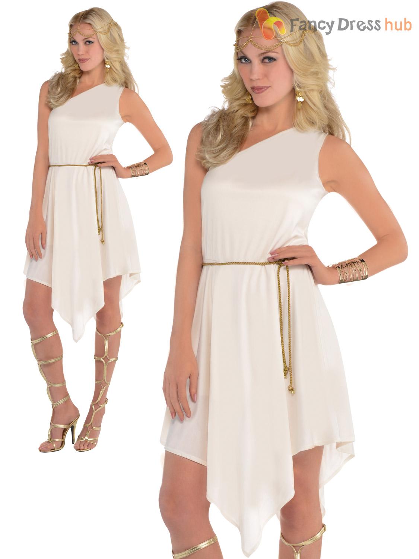 Ladies greek roman grecian goddess costume adults toga womens fancy ladies greek roman grecian goddess costume adults toga solutioingenieria Image collections