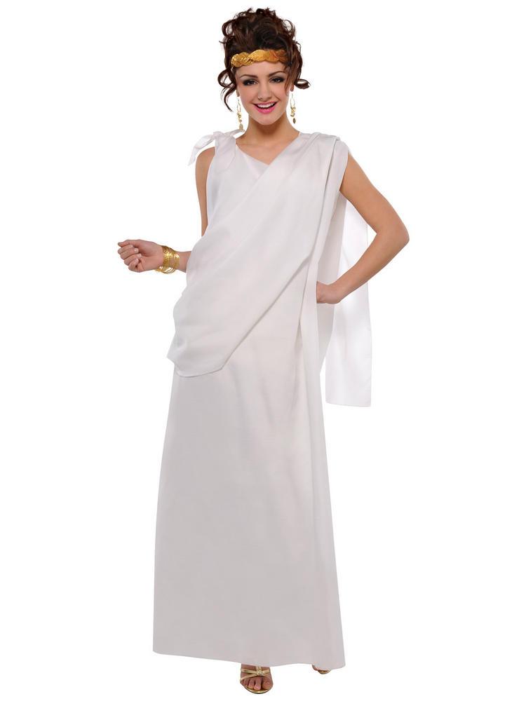 Adults Toga Costume All Ladies Fancy Dress Hub