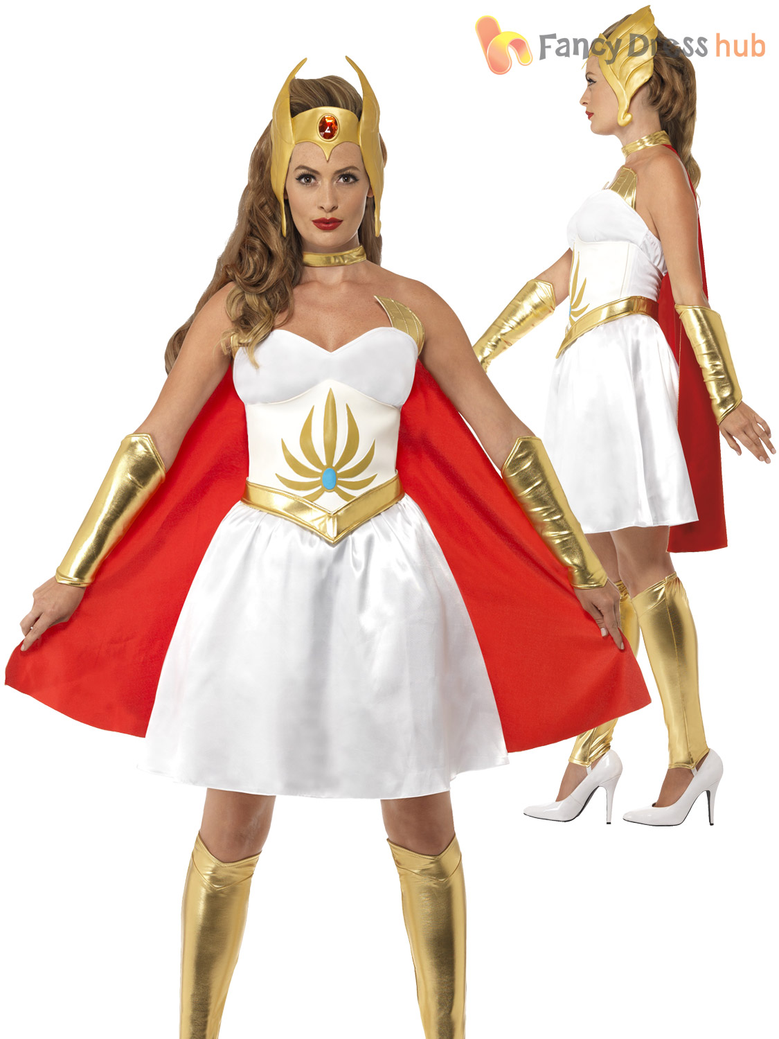 Ladies-Deluxe-She-Ra-Costume-Adults-Superhero-Outfit-  sc 1 st  eBay : ebay costumes for adults  - Germanpascual.Com