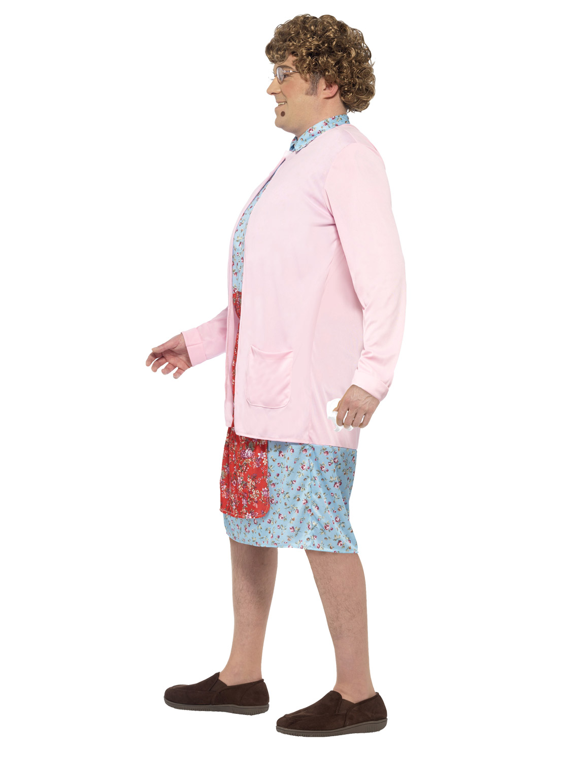 Adults Mrs Brown Boys Costume Mens Old Granny Fancy Dress TV Comedy Stag Party