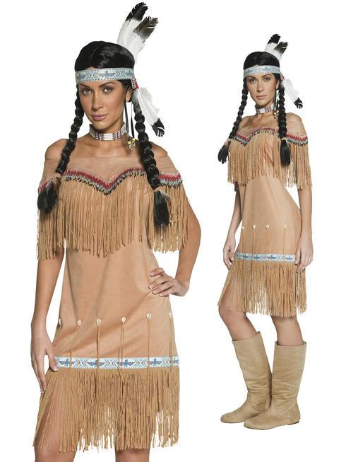 Ladies Authentic Western Indian Costume