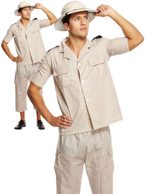 Men's Safari Explorer Costume