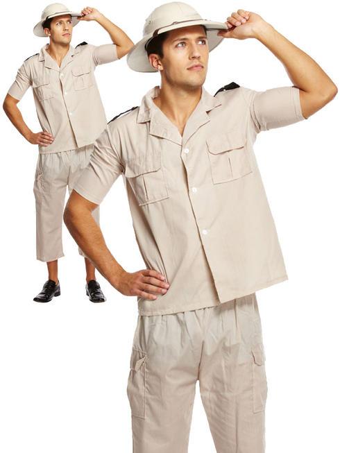 Men's Safari Explorer Costume