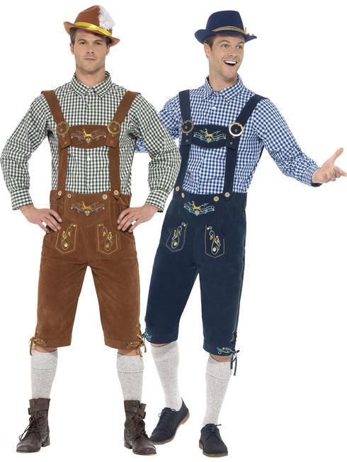 Men's Deluxe Lederhosen Costume