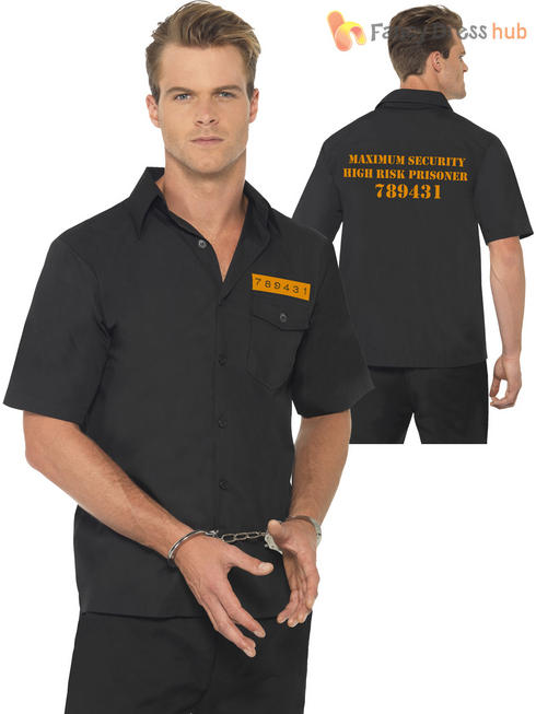 Men's Black Prison Shirt