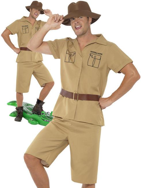 Men's Safari Man Costume
