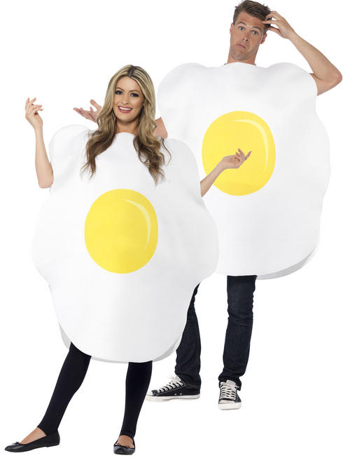 Adult's Fried Egg Costume