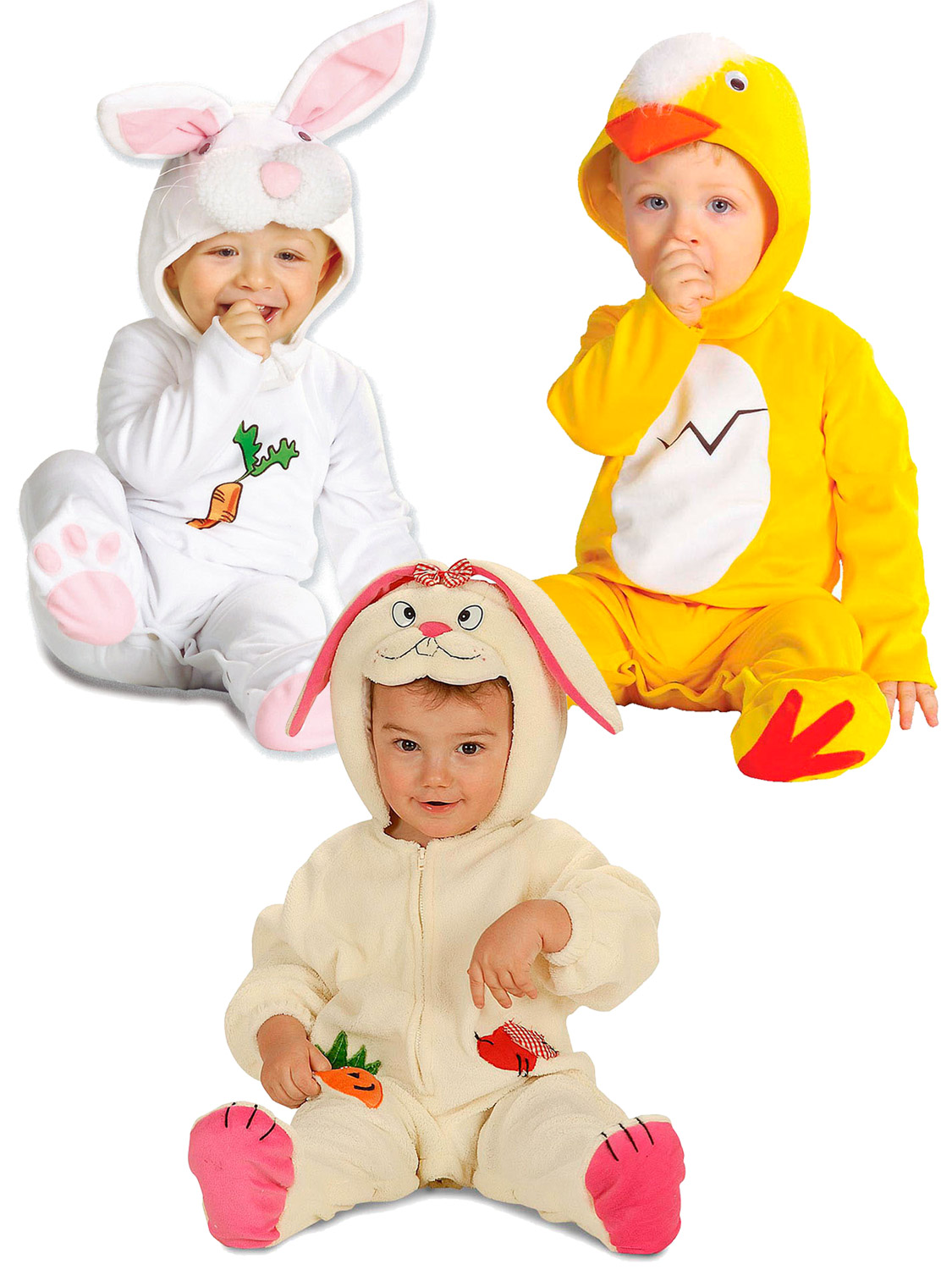 64c44fa80 Baby Toddler Bunny Rabbit Costume Girl Boy Easter Chick Fancy Dress ...