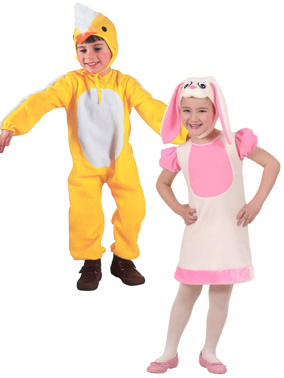 ac65b6907 Details about Childs Bunny Rabbit Little Chick Fancy Dress Costume Toddler  Boys Girls Easter