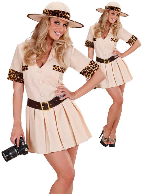 Ladies Safari Girl Costume