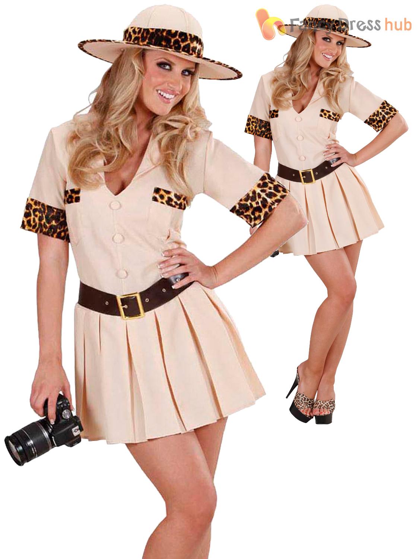 Ladies safari costume adult explorer fancy dress zoo keeper ladies safari costume adult explorer fancy dress zoo solutioingenieria Images