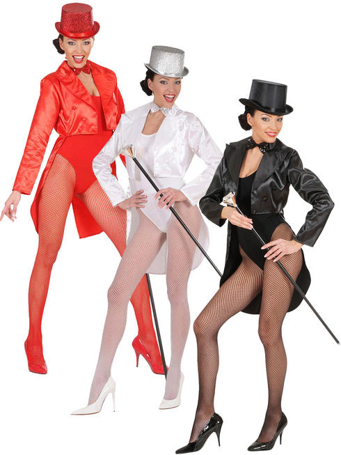 Ladies Satin Tailcoat