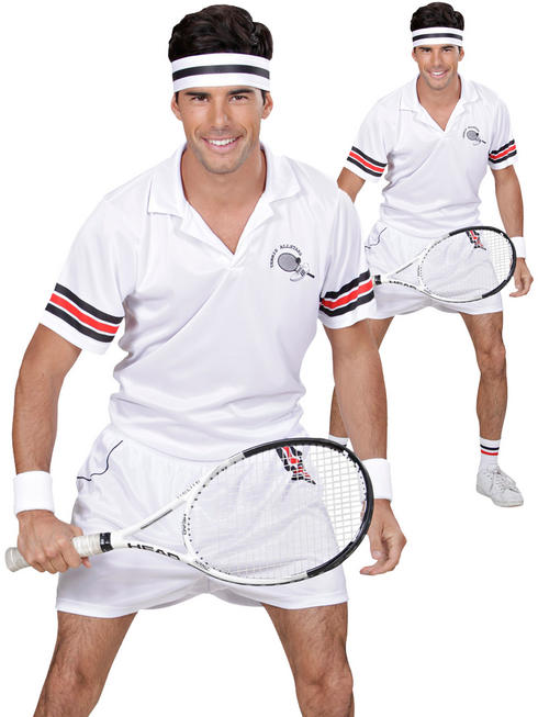 Men's Tennis Player Costume
