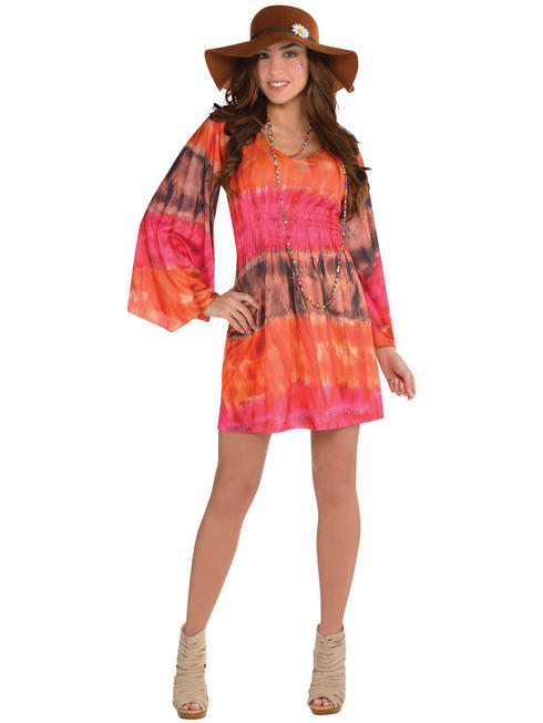 Ladies 1960s Groovy Festival Dress