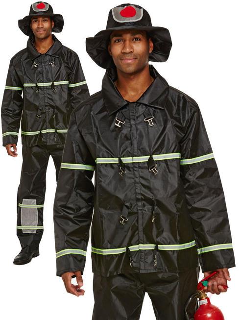 Men's Fireman Costume