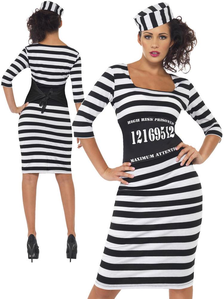 Ladies Classy Convict Costume