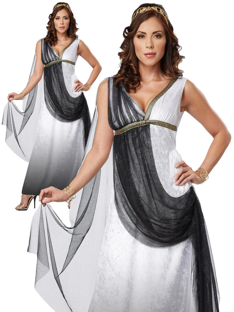 Ladies Deluxe Roman Empress Costume