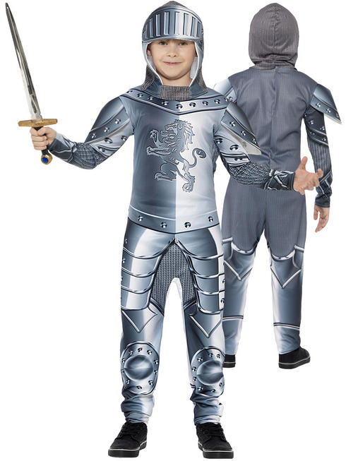 Boy's Armoured Knight Costume