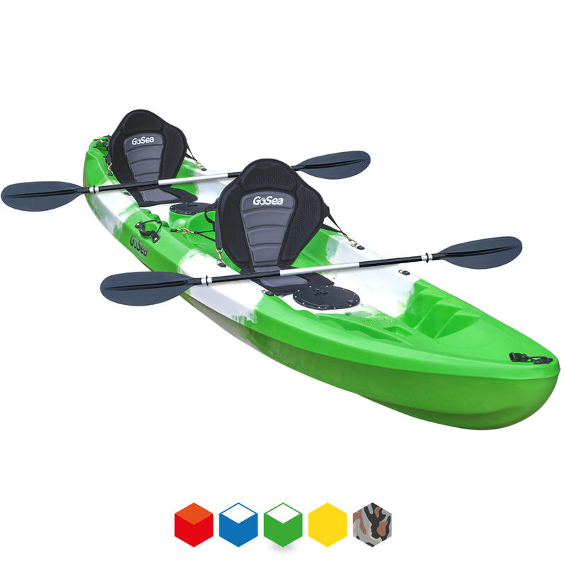 GoSea Voyage Family Tandem Sit-On Kayak