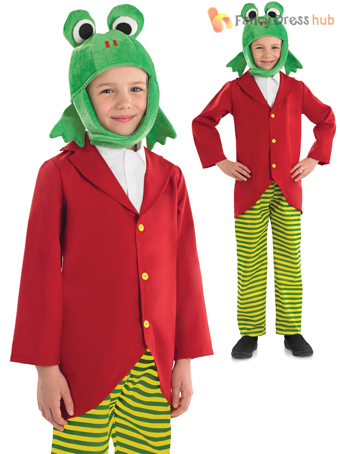 Details about Child Mr Toad Peter Rabbit Book Day Character Costume Fancy  Dress Boys Fairytale