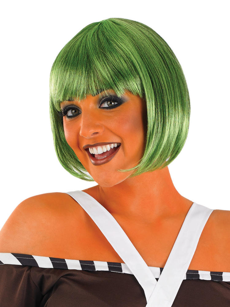 Ladies Oompa Loompa Wig