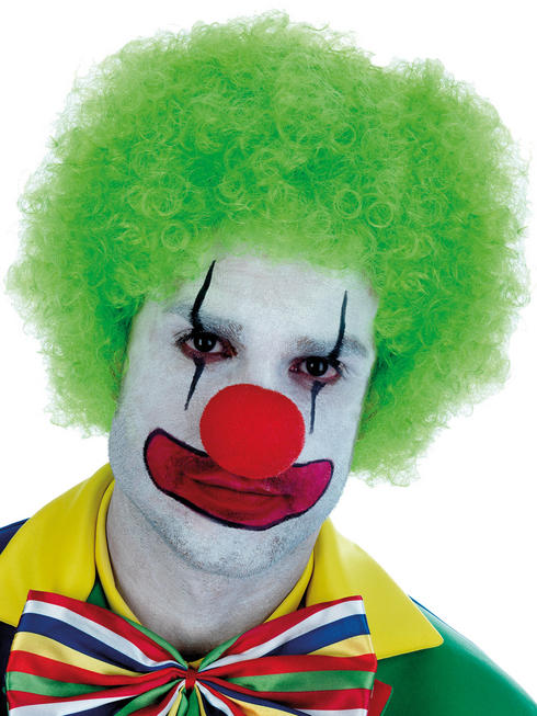 Adults Green Clown Wig