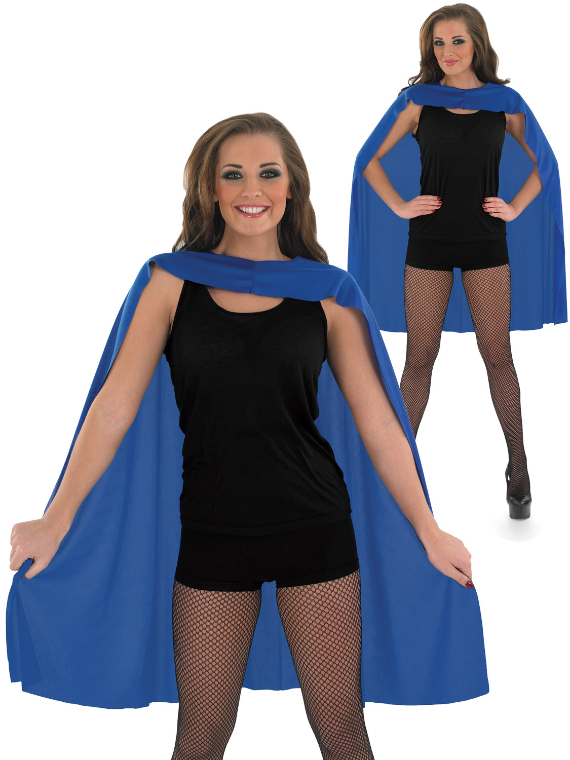 Adults Blue Superhero Cape