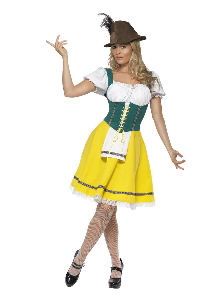 Ladies Oktoberfest Beer Festival Costume